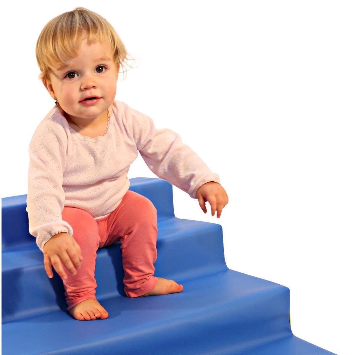 krabbellandschaft treppe mit 2 stufen antirutschboden. Black Bedroom Furniture Sets. Home Design Ideas