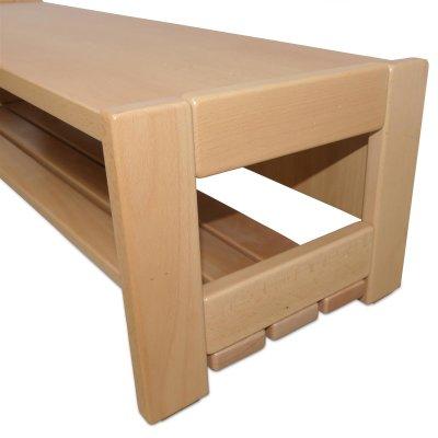 garderobenbank inkl lattenrost. Black Bedroom Furniture Sets. Home Design Ideas
