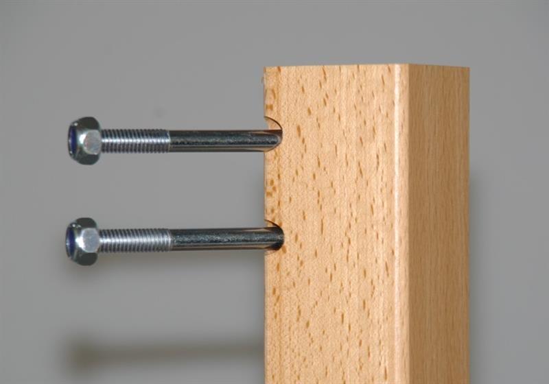 montagematerial f r tischbeine satz max versand krippenm bel krippenbedarf. Black Bedroom Furniture Sets. Home Design Ideas